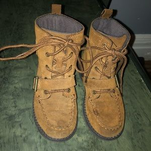 Polo Suede Boots
